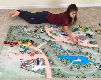 Horse Haven Children's Play Mat