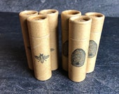 Natural Homemade Eco-Friendly Lip Balm Tubes