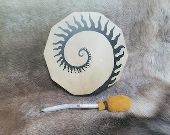 "Shaman Drum ~ Life's Spiral 14"""