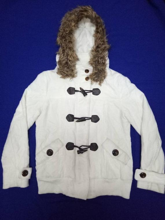 Spinkle Jacket Fur Hooded