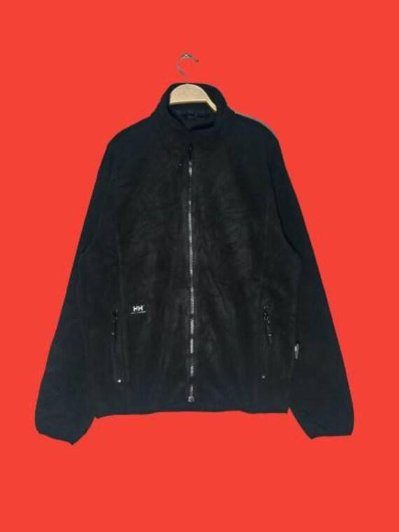 Vintage Helly Hansen Fleece Workwear Zipper Jacket