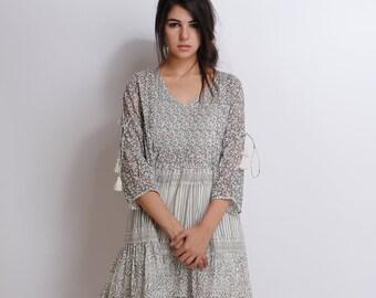 Carnation Tier Dress