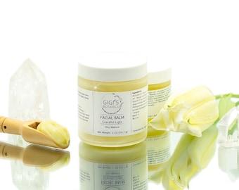 Organic Face balm Face Moisturizer Natural Face cream Organic Skin care Dry skin balm Greenbeauty product set
