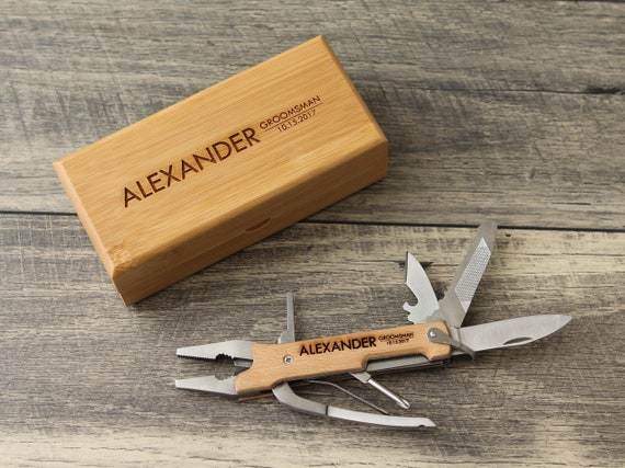 Personalized Tool Engraved Pocket Knife Pliers Gift For Etsy