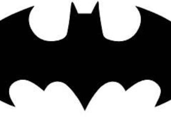 Batman Bat Symbol SVG Cutting File