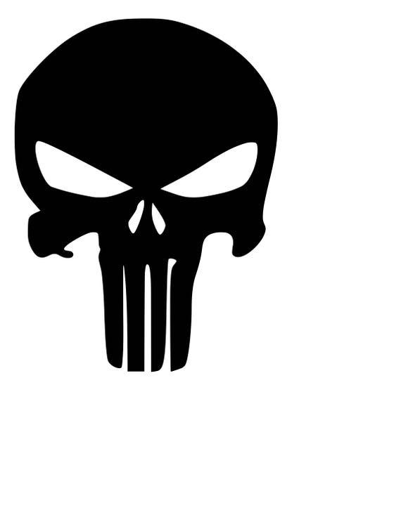 Punisher Skull SVG Cutting File