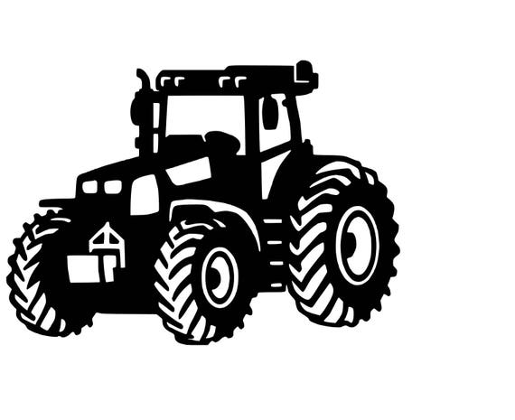 Big Tractor Svg Cutting File Etsy