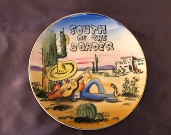 South of The Border Collector Plate or Wall Art