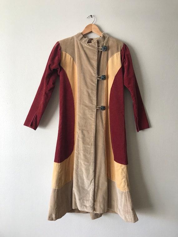 Vintage Corduroy Duster Coat.