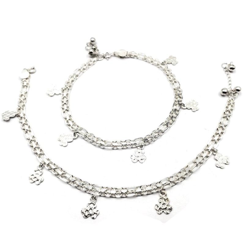 #83 925 Sterling Silver Anklet