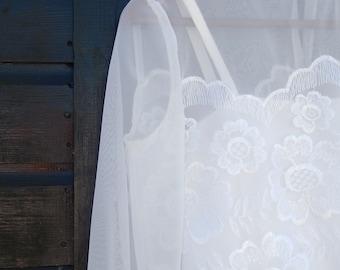 Vintage 1970's Ellis Wedding Dress Size UK 10