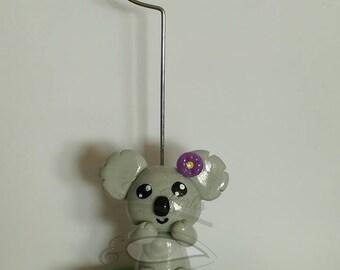 """Photo holder or card holder """"Little girl koala"""""""