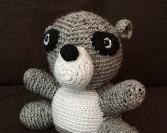 Ross the Raccoon (Stuffed Animal)