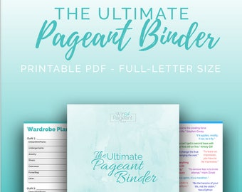 The Ultimate Pageant Binder