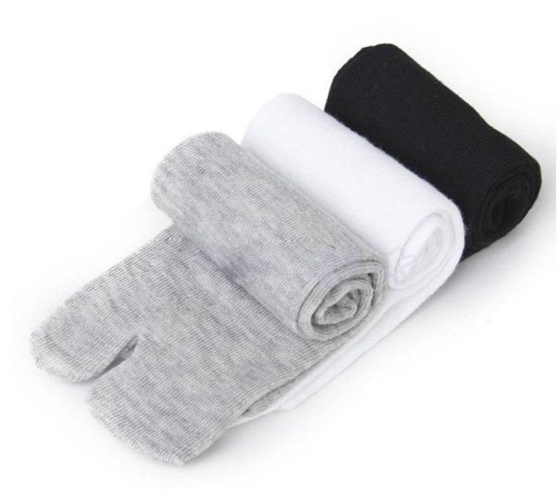 Tabi Socks Flip Flop Ankle Socks 2 Toe Socks Japanese Socks image 0