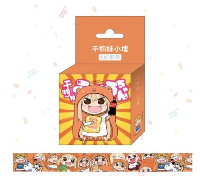 15mm x 5m anime doma umaru washi adhsive diy etsy