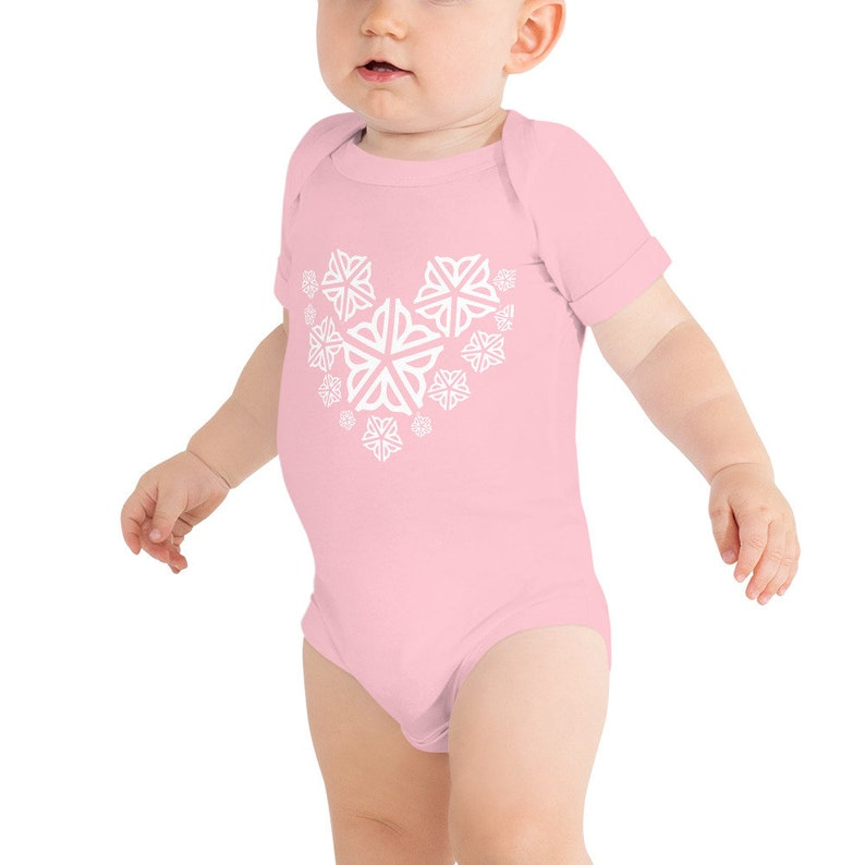 I Heart Rochester Infant Baby Onesie for Valentines Day