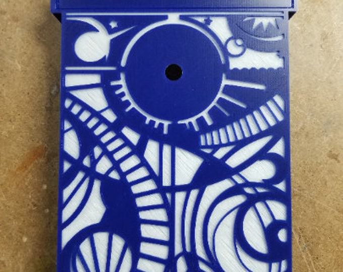 Tardis Clock (3d printed Doctor Who Inspired)
