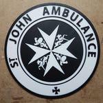 St. Johns Ambulance Tardis Sign (3d Printed Doctor Who)