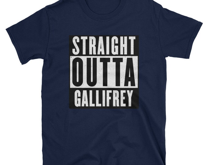 Straight Outta Gallifrey tshirt (Doctor Who)