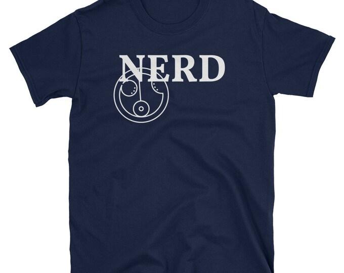 NERD in Gallifreyan (Doctor WHO)