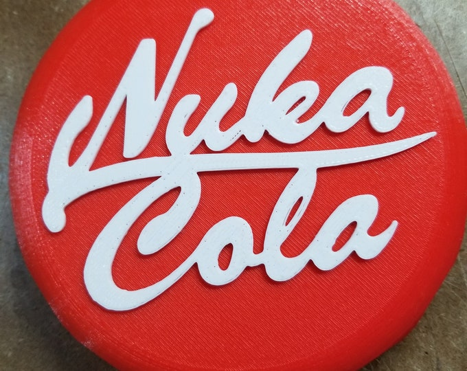 Nuka Cola Bottle Cap (3d Printed)
