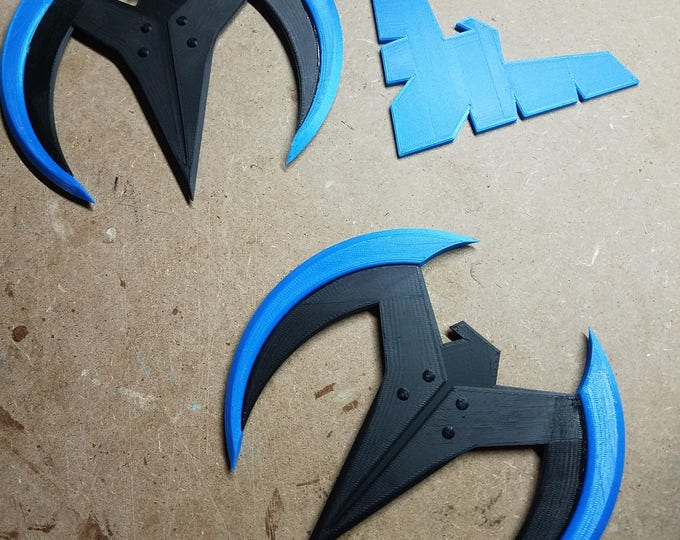 Nightwing Wingdings (3d Printed)