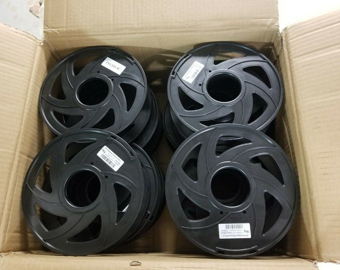 12 Empty 3D Printer Filament Round Spools (great for crafts)