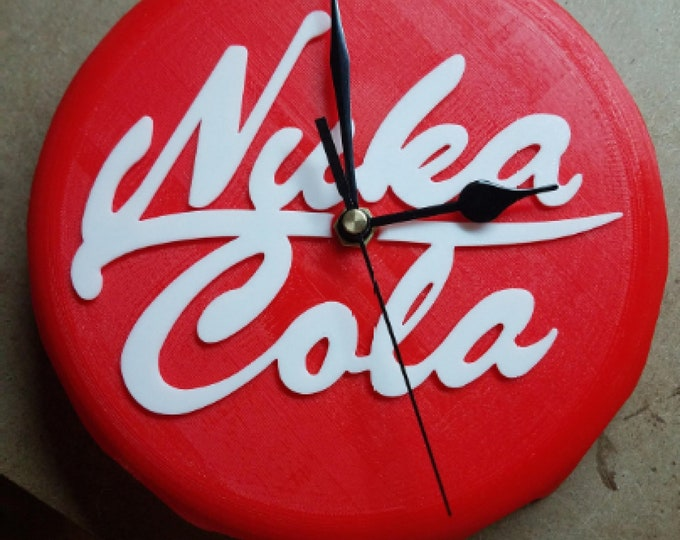 Nuka Cola Clock (3d Printed Fallout Inspired)