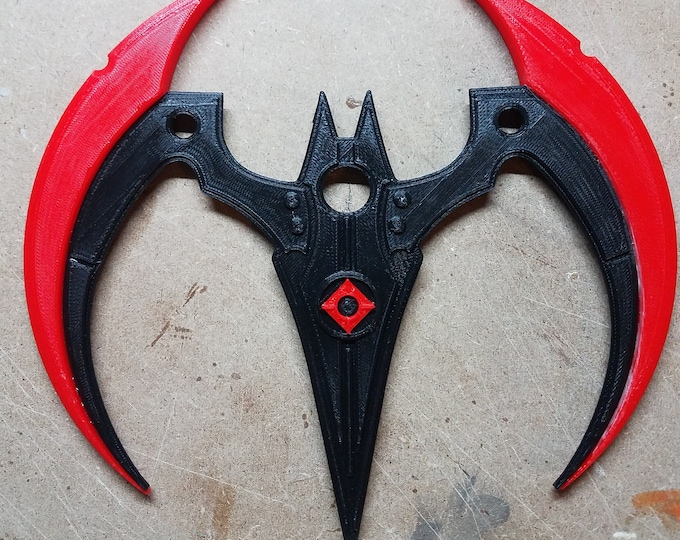 Batman Beyond Arkham Knight Batarang (3d Printed Two colors)