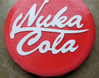 Nuka Cola Bottle Cap (3d Printed)