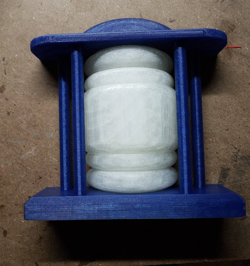 Tardis Light for top of door 3d printed for Doctor Who image 0