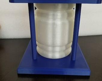 Police Box Light Full (Hollow 3d printed)