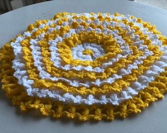 Natural handmade fiber for shower