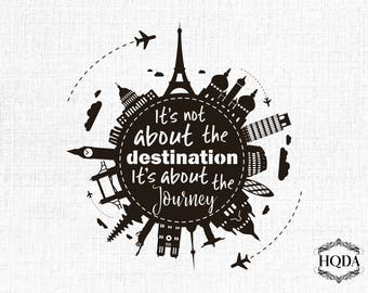 Travel Quote Svg Cut File