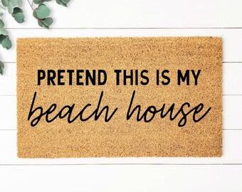 Nautical decor Beach house decor,Lake Life doormat,Lake house doormat,Lake house decor Nautical Doormat,Anchor doormat,Beach House Doormat