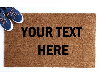 Custom Doormat Etsy