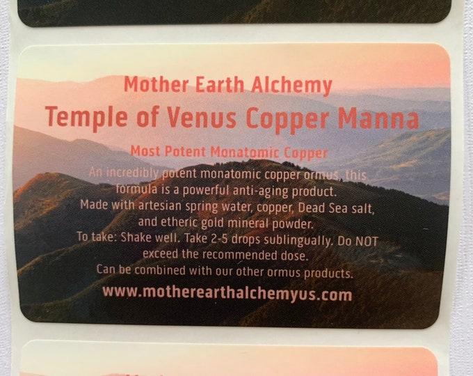 Venus Monatomic Copper Ormus Manna - 1oz