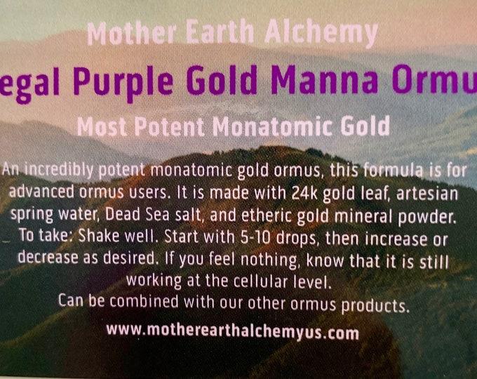 16oz Regal Purple Gold Manna
