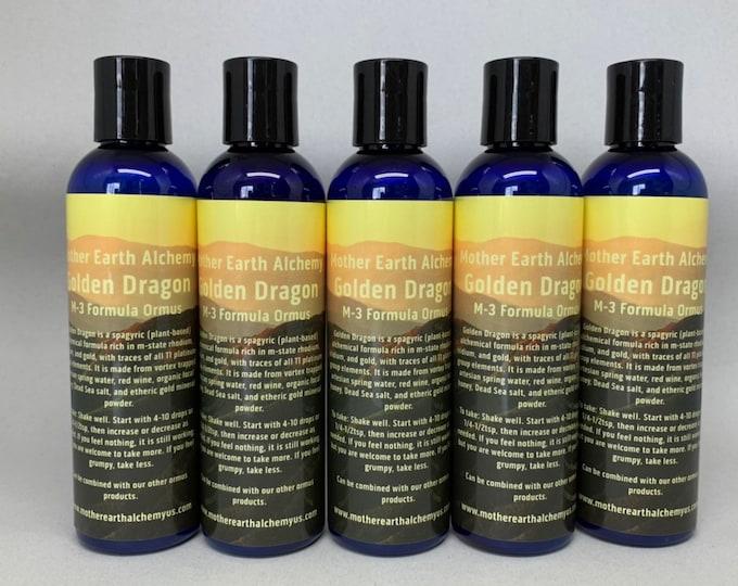 5 - 4oz bottles Golden Dragon M-3 Formula Ormus
