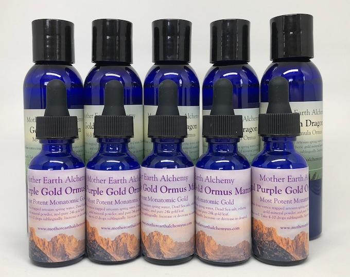 5 bottles of Golden Dragon & 5 bottles of Purple Manna