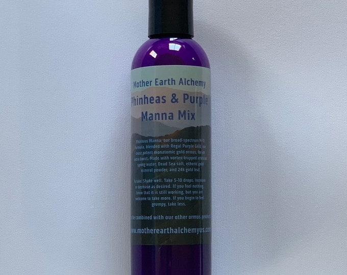 4oz Phinheas Manna with Regal Purple Gold Ormus