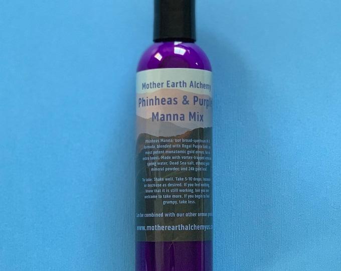 Phinheas Manna with Regal Purple Gold Ormus