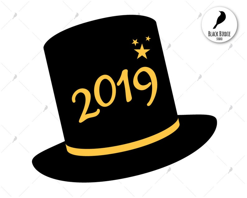 9a3387547d0 New Year 2019 svg Happy New Year svg Happy 2019 clipart New