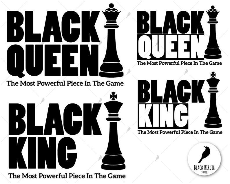 Download Black queen svg queen clipart black king svg king clipart ...