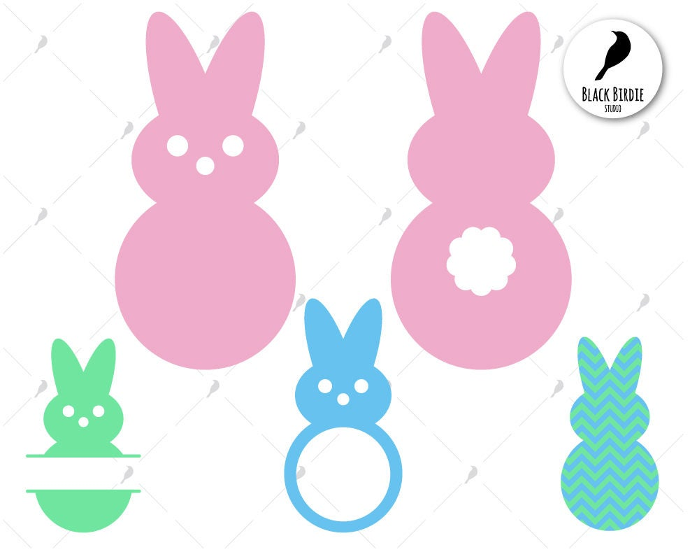 8a545b620 Easter bunny svg easter svg easter clipart bunny clipart | Etsy