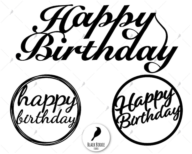 Inspiration Your Birthday Cake Design Happy Birthday Cake Topper Png