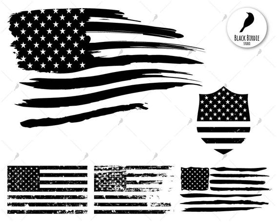 US flag svg distressed flag svg US flag clipart american ...