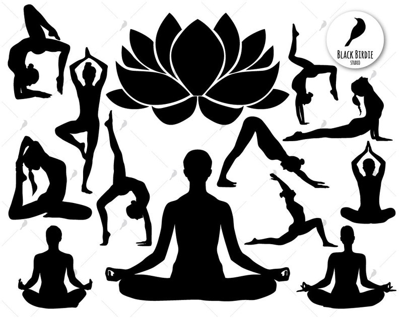 Yoga Svg Yoga Clipart Practice Svg Yoga Pose Svg