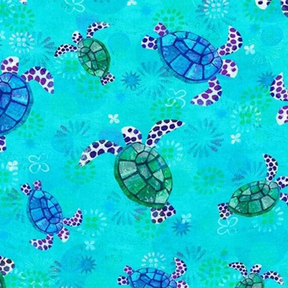 Sea Themed 100/% Cotton Fabrics OR Bundles Robert Kaufman Octopus Garden